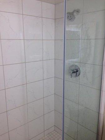 Tropicana Evansville: Stand in Shower