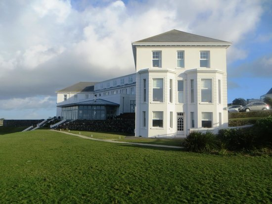 The Polurrian Bay Hotel end elevation