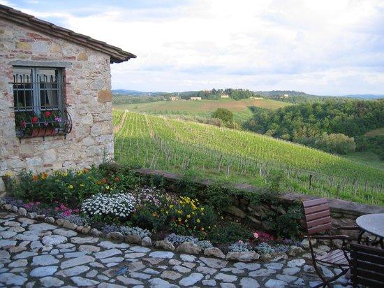 Borgo Argenina: Lovely breakfast patio