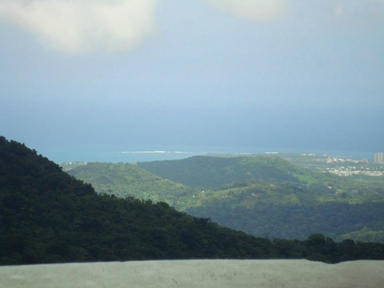Wyndham Grand Rio Mar Beach Resort & Spa: from the El Yunque towards the  resort