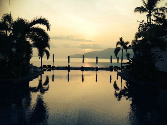 Serenity Resort & Residences Phuket: Sunrise at the Serenity Resort