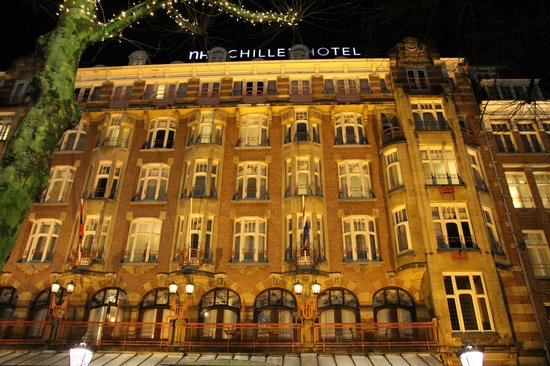 NH Amsterdam Schiller: facciata dell'hotel