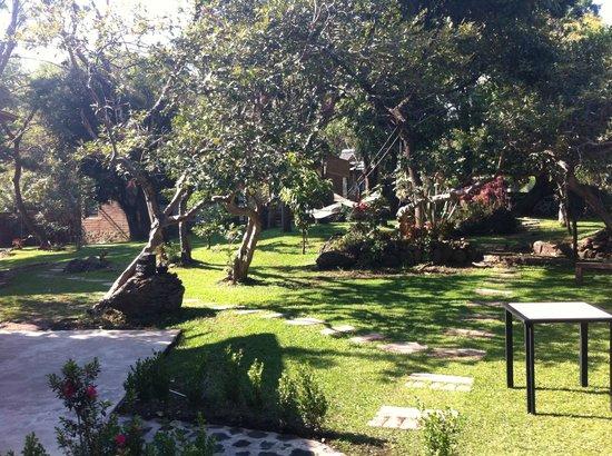 Canto de Aves Quinta Boutique : Magnifico jardin
