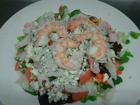 Simpson's Restaurant: Bleu Sea Salad
