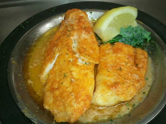 Simpson's Restaurant : Broiled Haddock