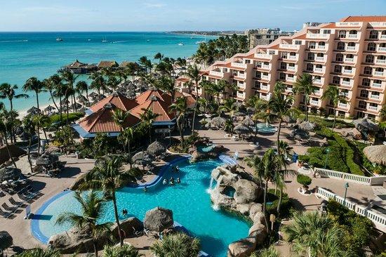Playa Linda Beach Resort: Aerial View of PLBR