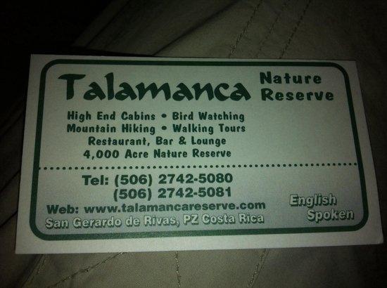 Talamanca Reserve: Aanrader