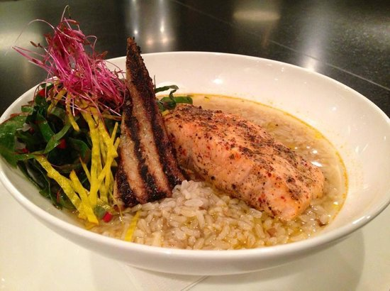 Vaudeville: Grilled Wild Salmon - Wednesday's Lunch Special