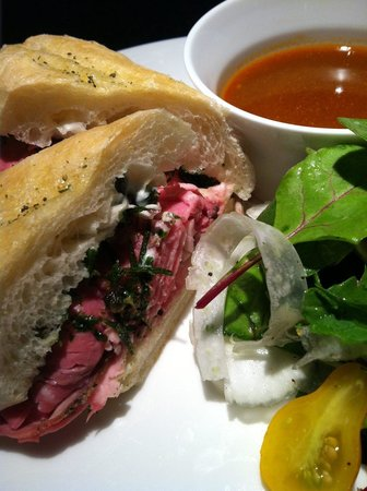 Vaudeville: French Dip Sandwich