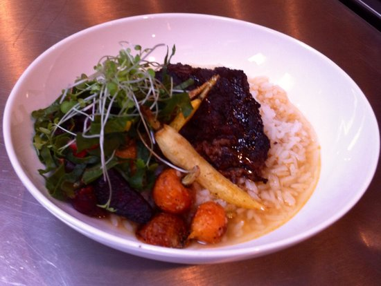 Vaudeville: Braised Shortrib Bowl