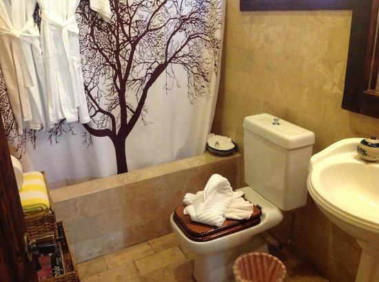 Posada de las Flores La Paz: Il bagno