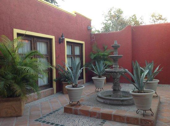 Posada de las Flores La Paz: Un angolo dell'Hotel