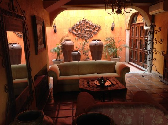 Posada de las Flores La Paz: Gli spazi comuni