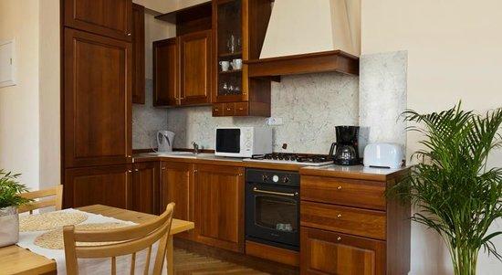 Lovely Prague Apartments: Kitchen