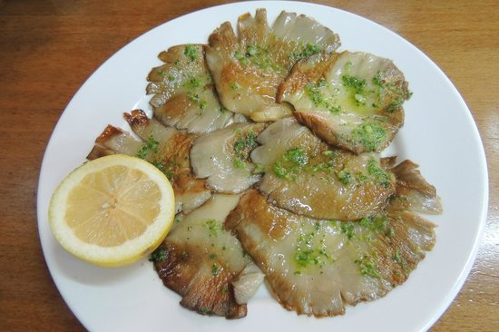 Setas a la plancha grilled mushrooms picture of - Setas ostra a la plancha ...