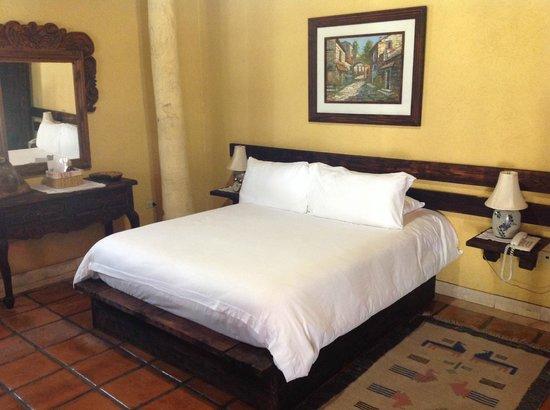 Posada de las Flores La Paz: La camera da letto