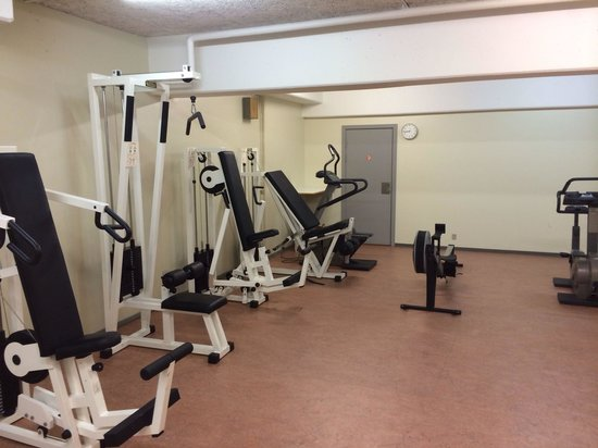 Radisson Blu H.C. Andersen Hotel, Odense: Extensive cardio and weights??? Poorly maintained.NB there is nothing else in the room this is i