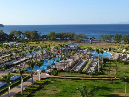 Hotel Riu Palace Costa Rica: view from our balcony