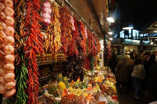 St. Josep La Boqueria : Une petite dose de piments