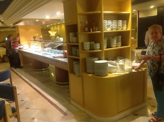 Hotel Don Paco: Breakfast buffet