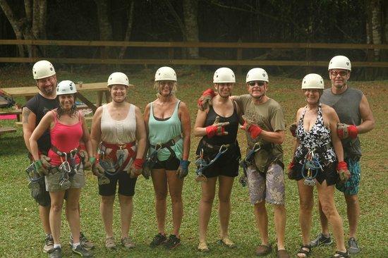 JuJu Tours: Ziplining