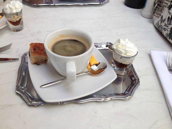Taste of Belgium Restaurant: The COFFEE!