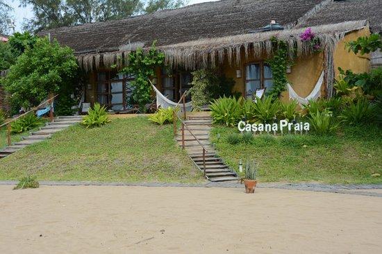 Casa na Praia Tofo : The rooms at the beach