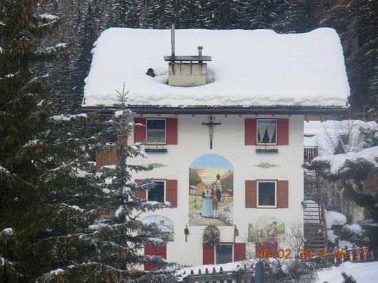 Hotel Cesa Tyrol: panorama dalla camera