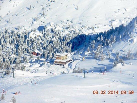 Hotel Cesa Tyrol: vista dal belvedere