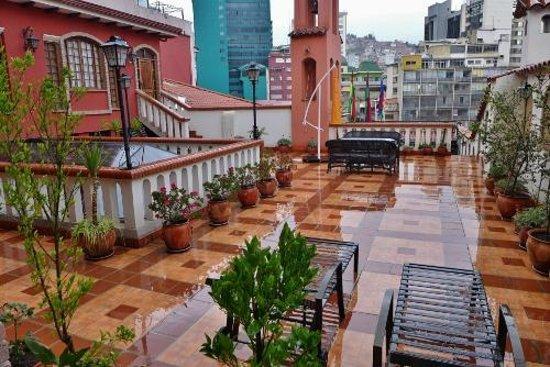 La Casona Hotel Boutique: Our patio