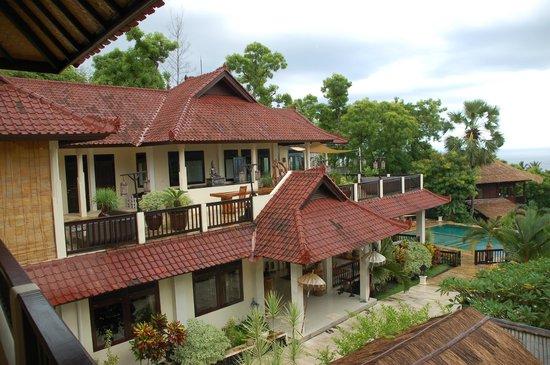 Villa Flow: Prachtig uitzicht vanaf 1 van de kamers