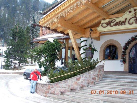 Hotel Cesa Tyrol: ingresso