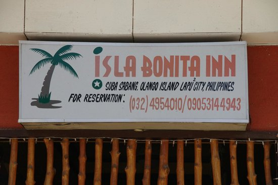 Olango Bonita Inn: The offical Name of the place and contact details