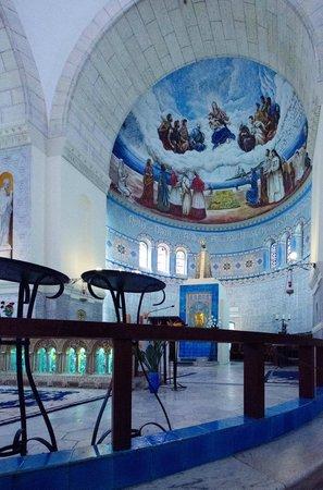 Basilique Notre-Dame d'Afrique : Intérieur