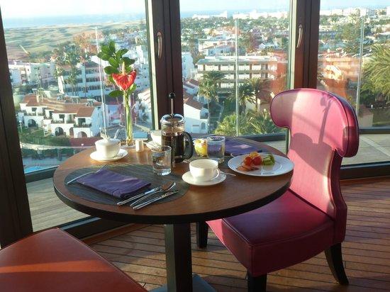 Bohemia Suites & Spa: udsigt fra restauranten.
