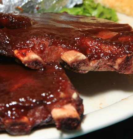Branding Iron BBQ & Steakhouse: Our ribs are fall-off the bone tender!