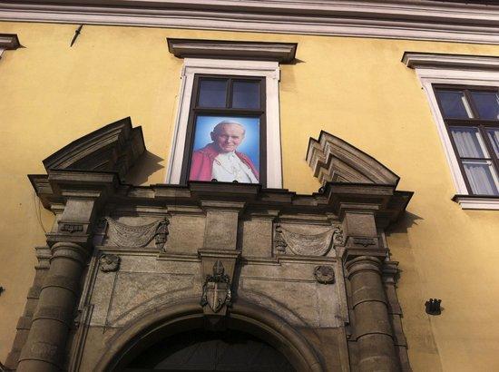 Hotel Jan : Residenza dove è stato il papa