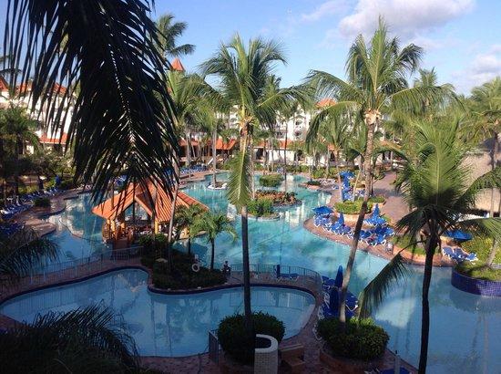 Occidental Caribe: Blick vom Zimmer