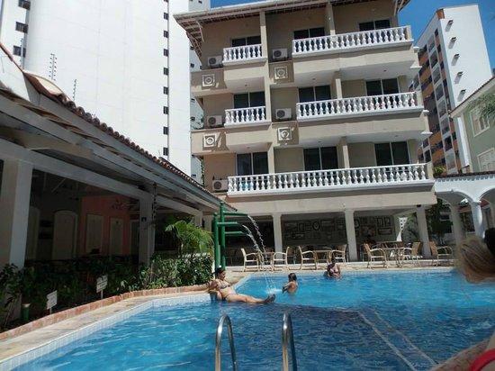 Hotel Villa Mayor: Vista piscina
