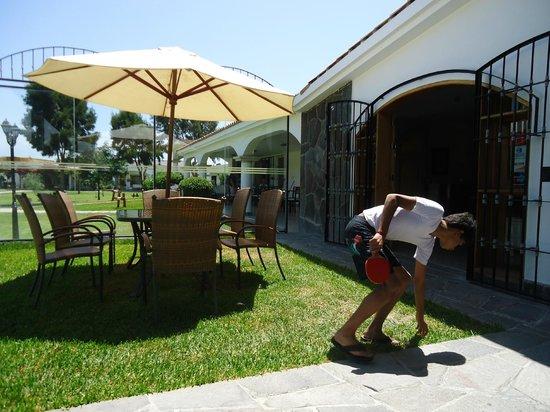 Hotel Qia Ecolodge: TERRAZA DEL COMEDOR