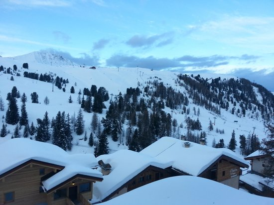 Macot-la-Plagne, Frankrike: view from the room! xxx