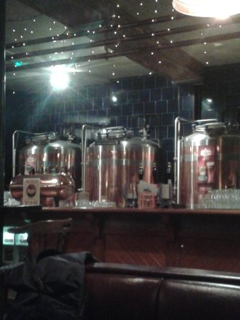 Franciscan Well Brewery: Check out the Tanks on that