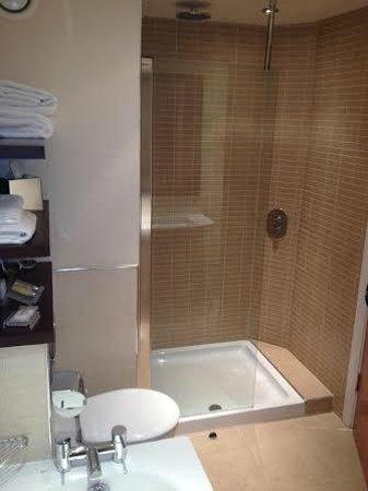 Hilton Garden Inn Aberdeen City Centre: Shower