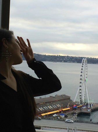 Four Seasons Hotel Seattle: Great View