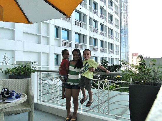 Quest Hotel and Conference Center - Cebu : balcony