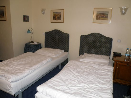 Hotel Tyl : quite comfortable beds