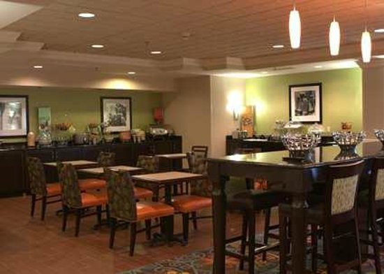 Hampton Inn Princeton: Eating Area