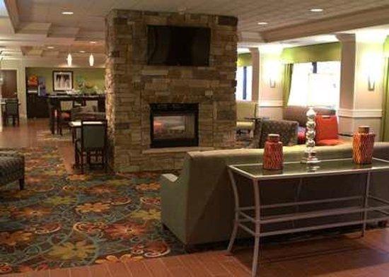 Hampton Inn Princeton : Lobby Area