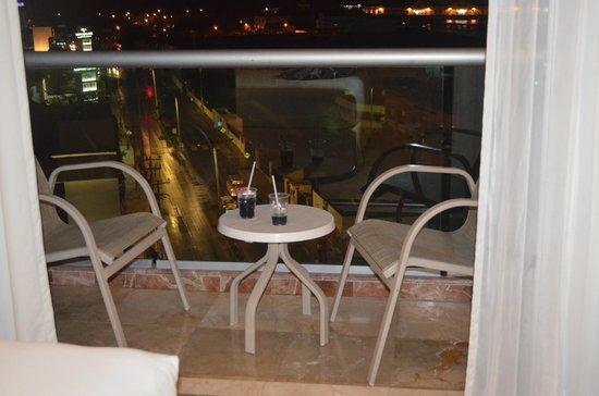 Grand Park Royal Cozumel: balcon