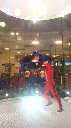 iFLY Austin Indoor Skydiving: I really got some unassisted height here!!!